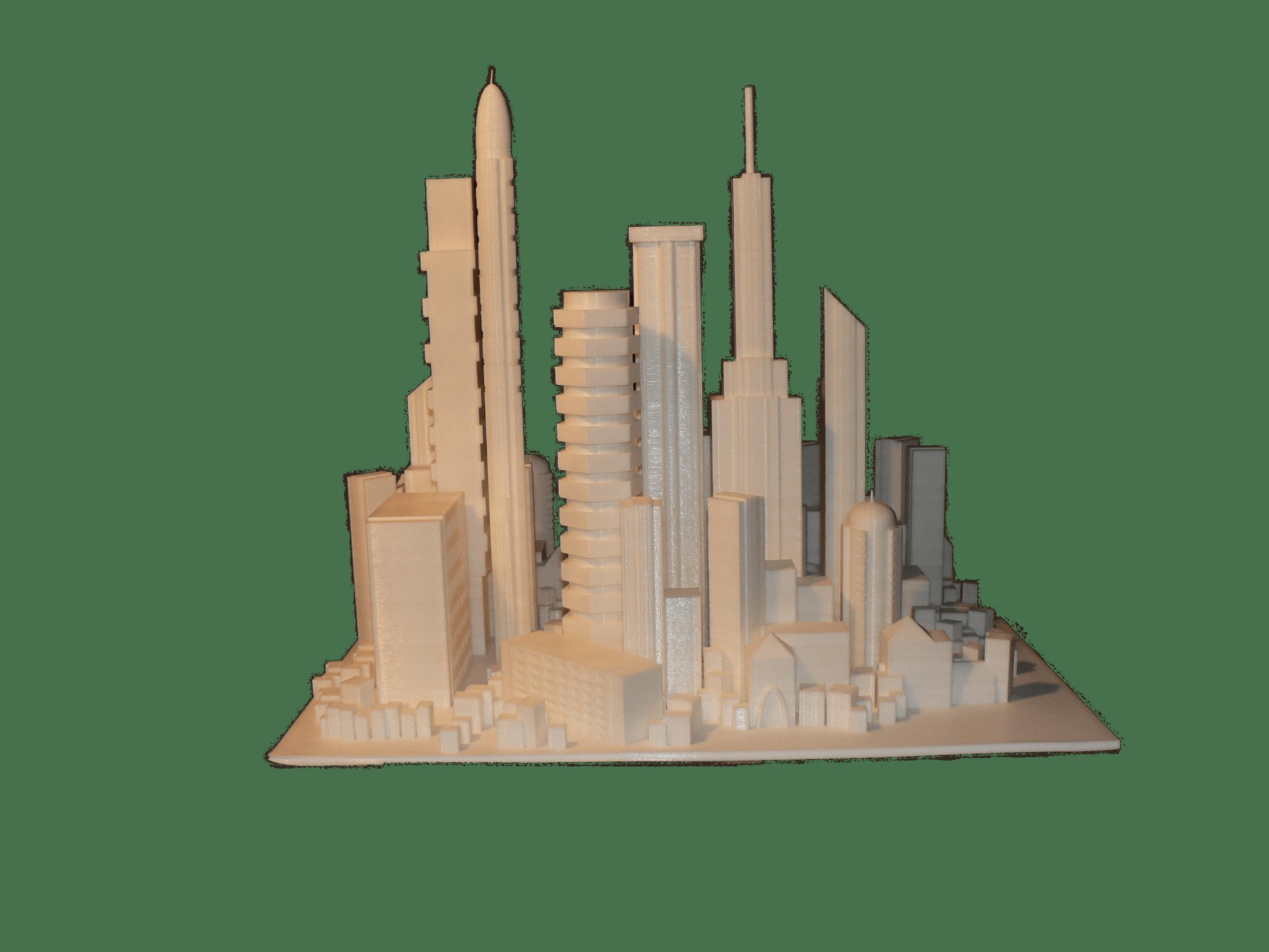 Maquette 60 x 60 x 60 cm