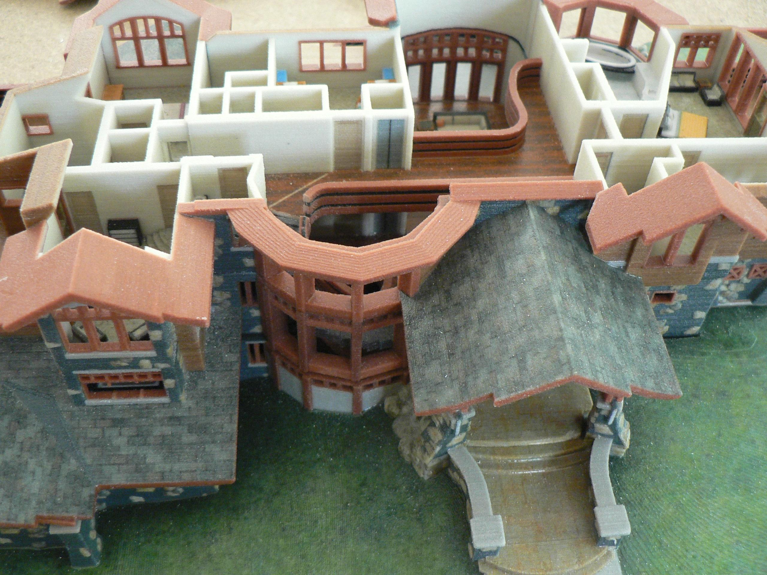 Maquette 3D sur  imprimante 3D Systems au Maroc