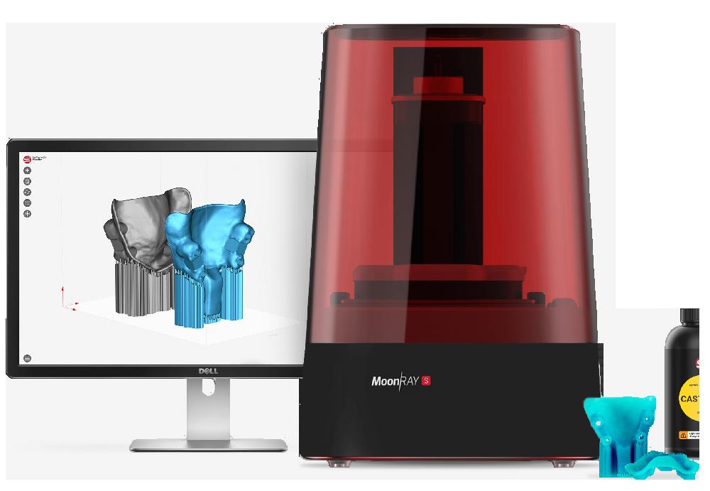Imprimante 3D résine Moonray S