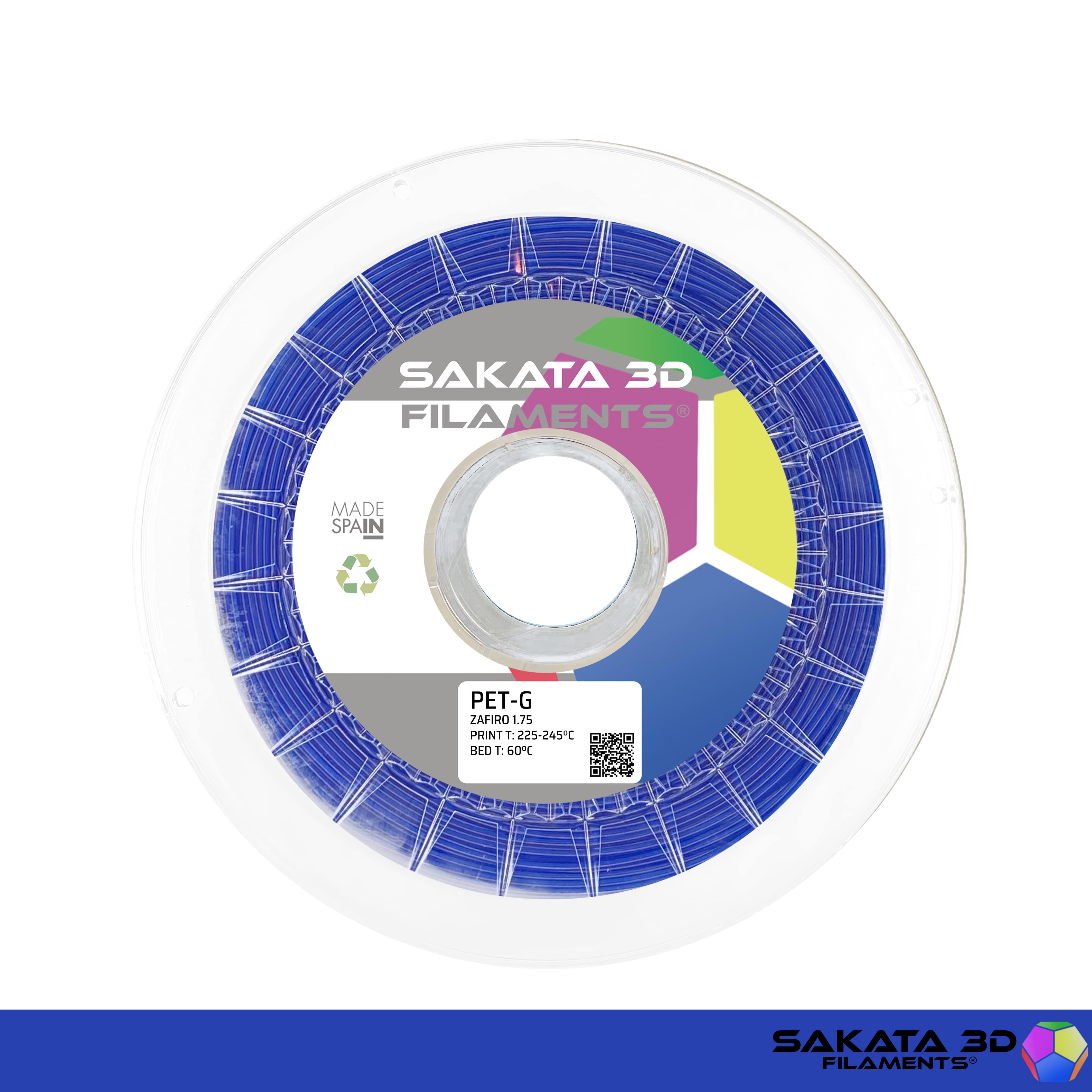 Filament 3D : PETG Sakata 3D Bleu