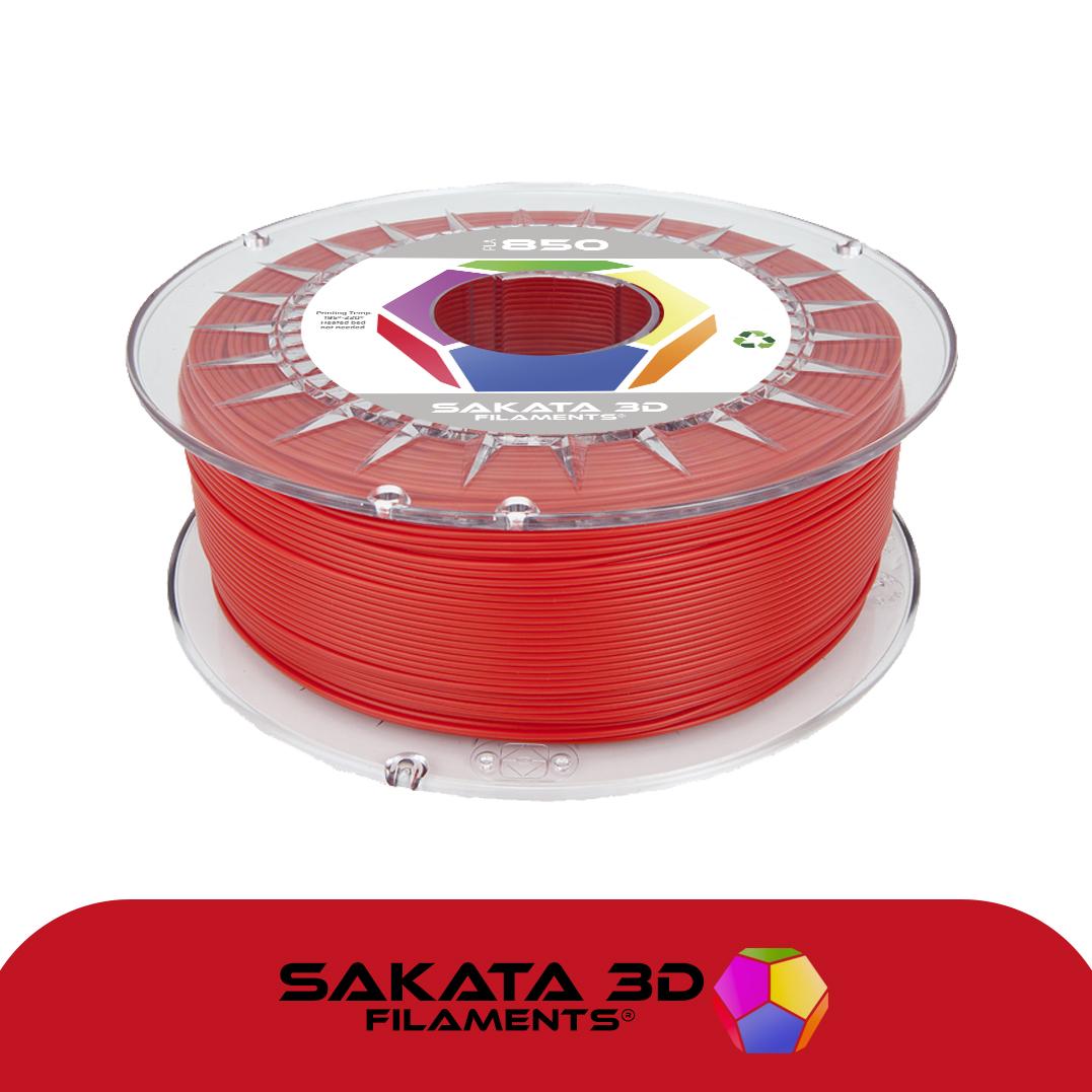 Filament 3D PLA SAKATA 850 Rouge