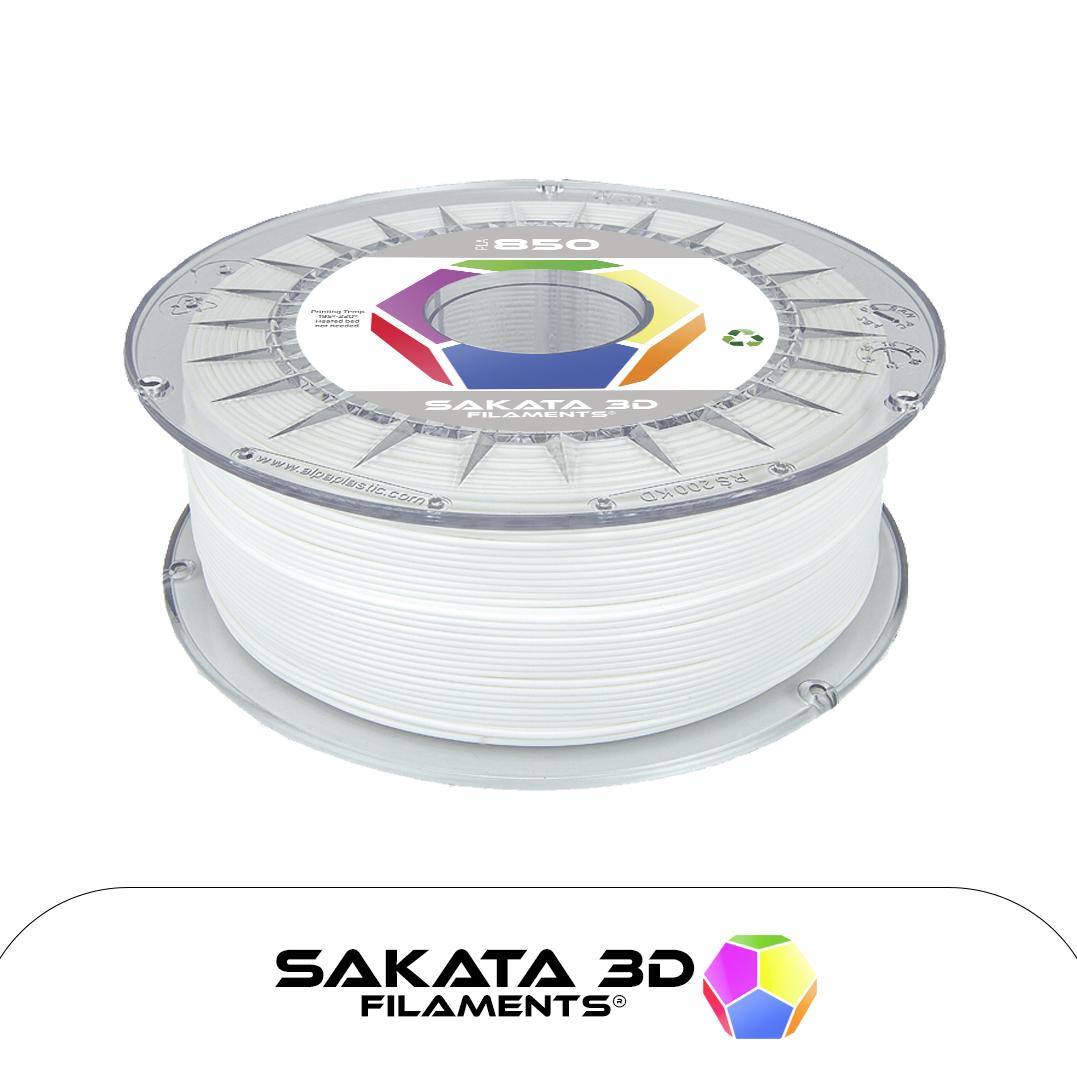 Filament 3D PLA SAKATA 850 Blanc