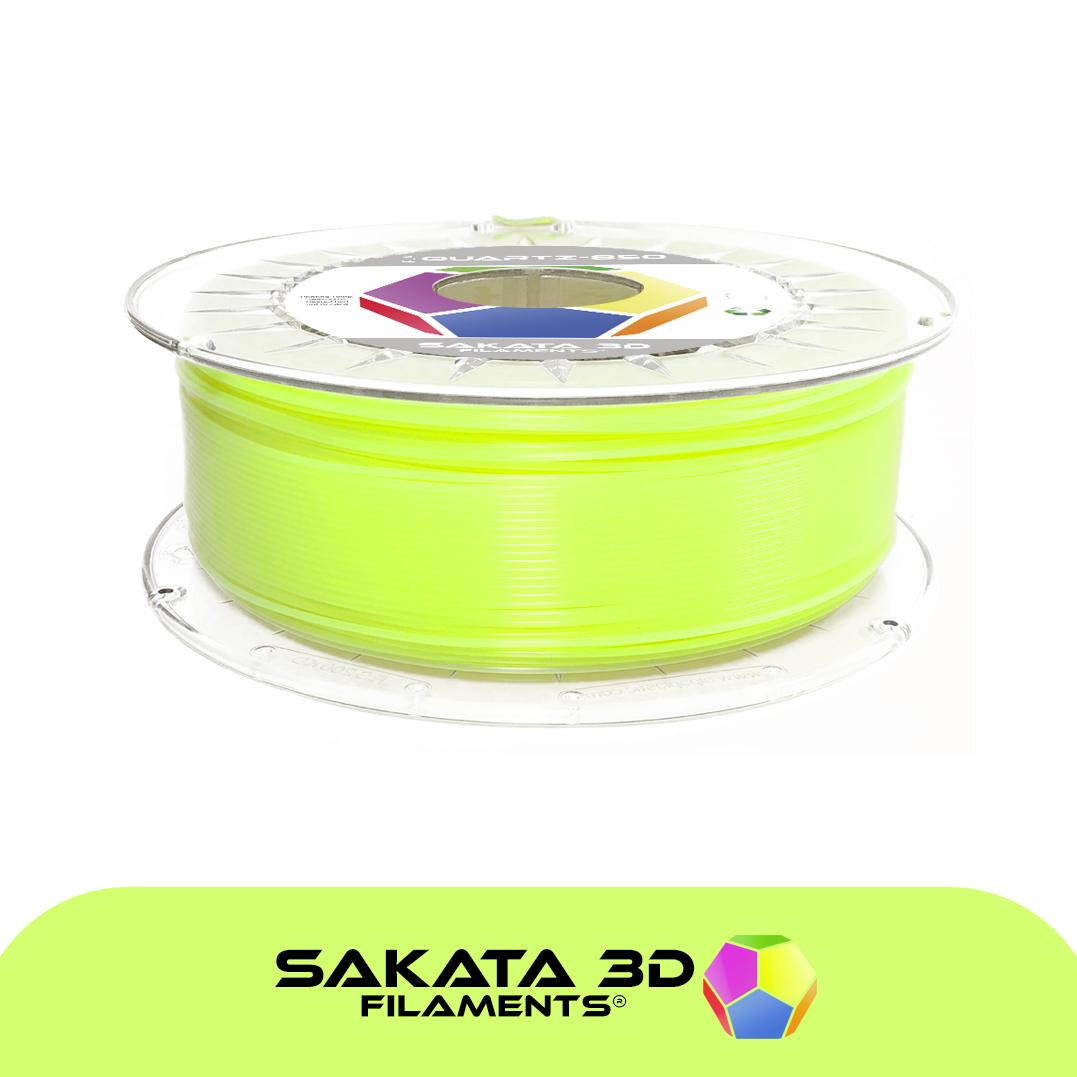 Filament 3D PLA SAKATA 850 fluo Jaune