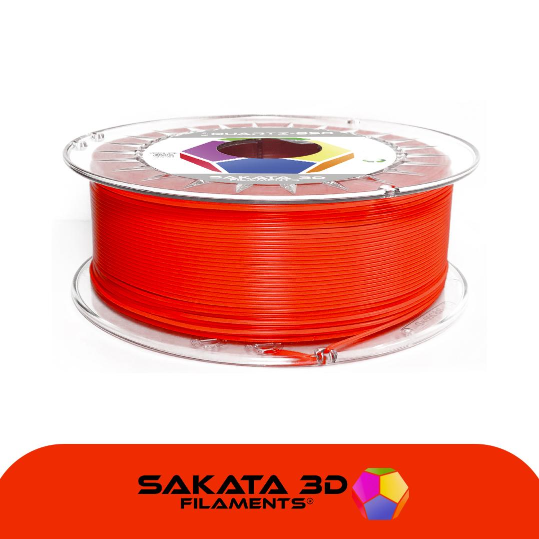 Filament 3D PLA SAKATA 850 Fluo Rouge