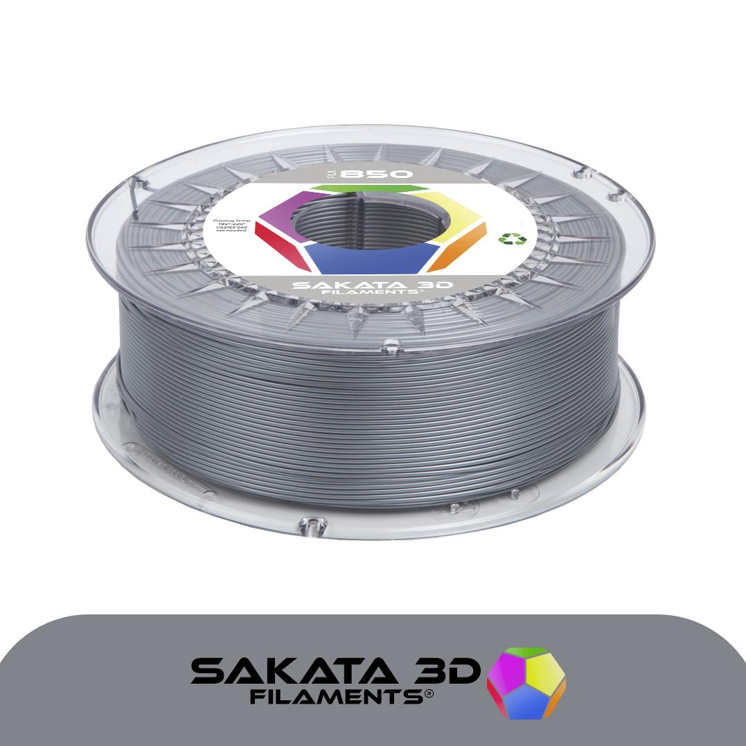 Filament 3D PLA SAKATA 850 Argent