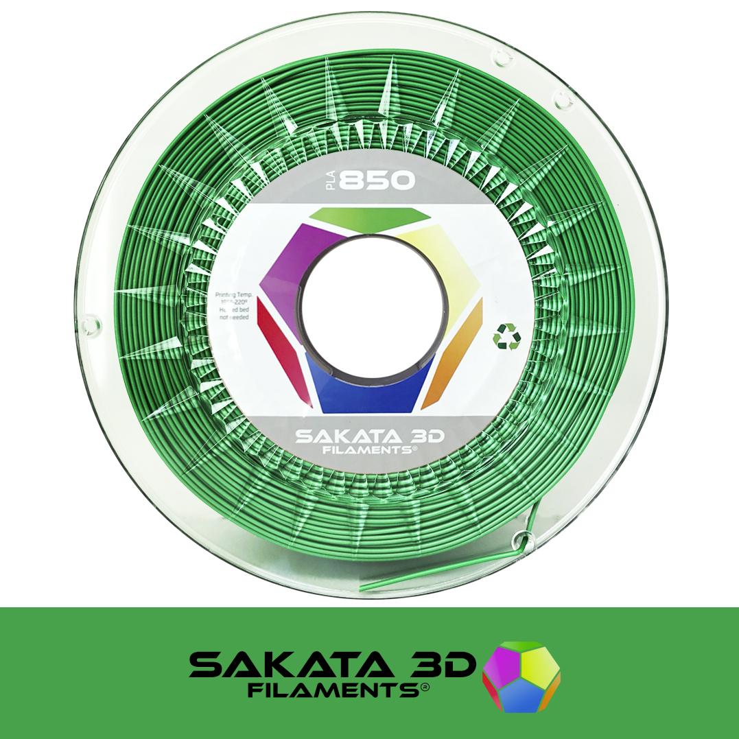 Filament 3D PLA SAKATA 850 Vert Soie